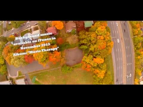 Aerial Video of A Suburban Home