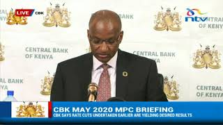 CBK says there is urgent need to cushion SMEs from Covid-19 effects