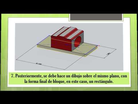 Tutorial diseño de bloques porta rodamientos