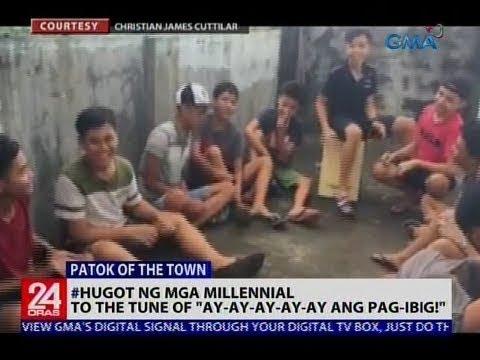 [GMA]  #Hugot ng mga millennial, to the tune of Ay-ay-ay-ay-ay Pag-ibig