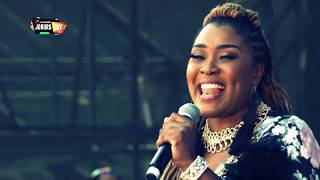 Collide   Lady Zamar At #HuaweiJoburgDay In The Park