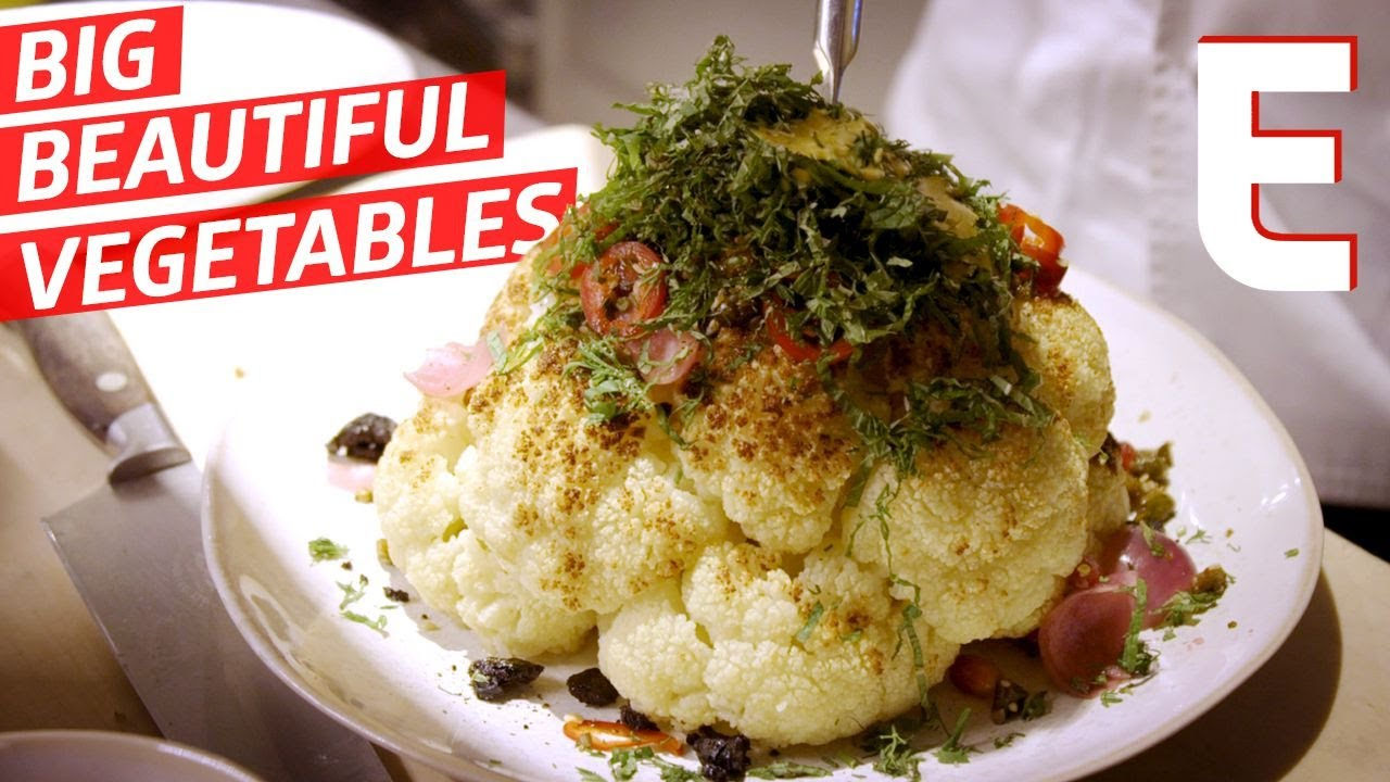 Whole-Roasted Cauliflower is the Vegetarian Answer to Giant Meat Dishes — Elevated Cooking thumbnail