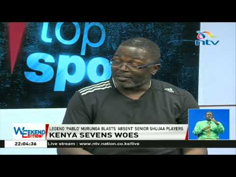 Kenya Sevens woes: Legend 'Pablo' Murunga blasts 'absent' senior Shujaa players