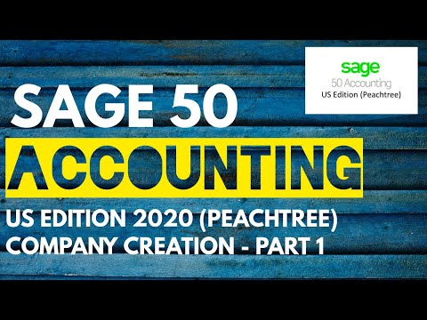 Sage 50 Accounting US Edition 2020 in Urdu/Hindi - Company ...