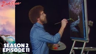 Bob Ross - Black Waterfall (Season 2 Episode 11)