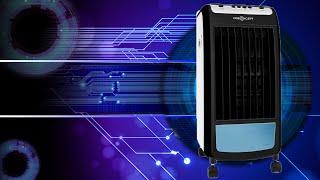 Hardware | oneConcept Carribean Blue Klimagerät Ventilator Luftbefeuchter 3 in 1