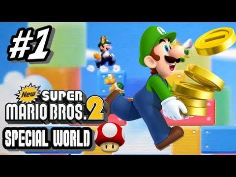 New Super Mario Bros 2 Walkthrough - 3DS - Part 6 FINALE World 6 by