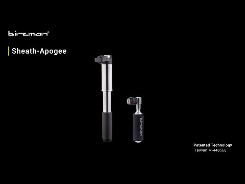 Birzman Sheath Apogee hybridpumpe video