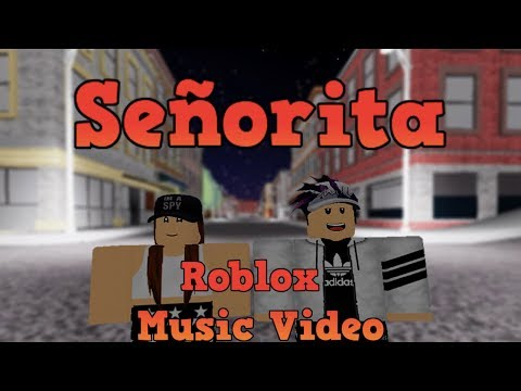 Señorita || Shawn Mendes, Camila Cabello || Roblox Music Video