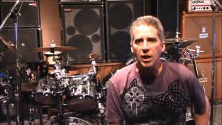 Ted Kirkpatrick / Tourniquet DRUMS EPISODE #1 - influences