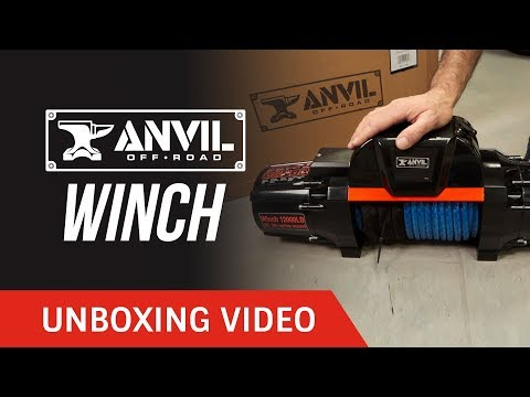 Unboxing: Anvil Off-Road Winch