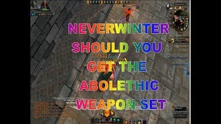 Neverwinter HOW TO GET YOUR ABOLETH SET I get one for my GWF