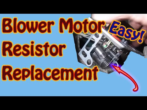 on Chevy S10 Blower Motor Resistor Location