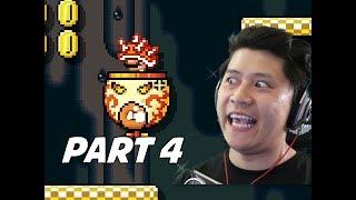 SUPER MARIO MAKER 2 Walkthrough Part 4 - Spike Helmet? (Nintendo Switch)