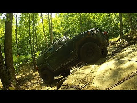 4x4 OFF-ROAD - Rock Crawling FAILS But New Synthetic Rope Test Was Successful