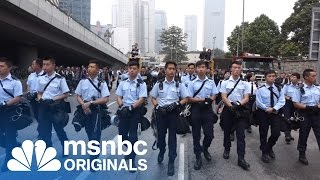 Epilogue: The Umbrella Movement | Originals | msnbc thumbnail