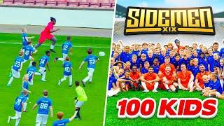 SIDEMEN VS 100 KIDS FOOTBALL MATCH