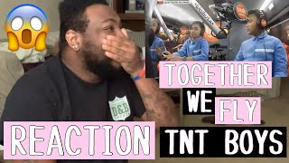TNT BOYS - TOGETHER WE FLY on WishBus | REACTION