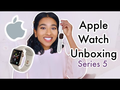 Apple watch series 5 2020 // My apple watch series 5 unboxing and review