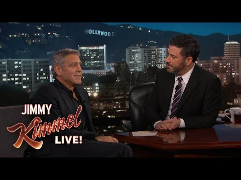George Clooney's Twins Make Television Debut
