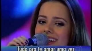 Você Pra Sempre ( Inveja ) Sandy E Junior Ao Vivo - Domingão Do Faustão