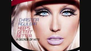13. Genie 2.0 - Christina Aguilera (Keeps Gettin' Better: A Decade Of Hits 2008)