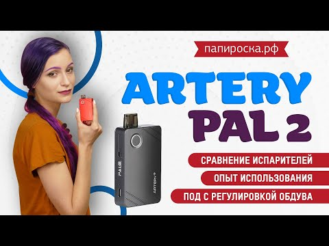 Artery PAL II Starter Kit (1000mAh) - набор - видео 1