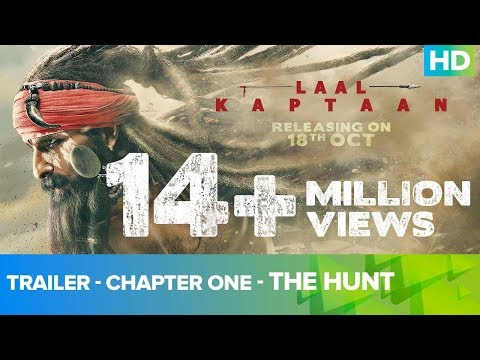 Laal Kaptaan - Movie Trailer Image