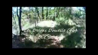 preview picture of video 'VTT - Pradines, Les Deltas Douelle - Lot (46)'