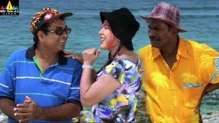Evadi Gola Vaadidi Movie Scenes | Brahmanandam and Kovai Sarala Comedy | Sri Balaji Video