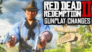 Red Dead Redemption 2 - MAJOR GUN CHANGES & SHOOTING GAMEPLAY DETAILS