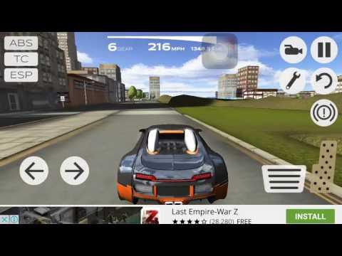 Extreme Car Driving Simulator Glitch #2