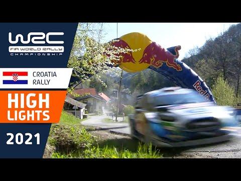 WRC 2021 第3戦ラリー・クロアチア SS9-12ハイライト動画