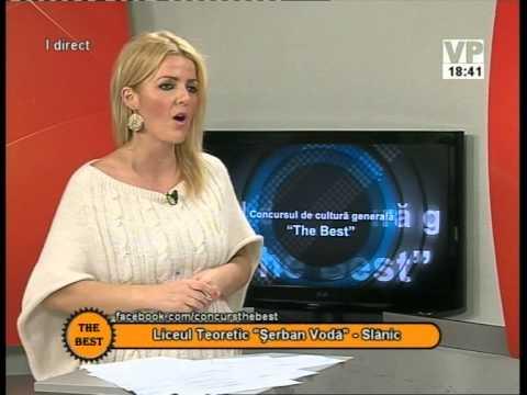 """Preselecții The Best – 20 octombrie 2014 (I) – Liceul Teoretic """"Șerban Vodă"""" Slănic"""