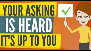 Abraham Hicks - Your ASKING IS HEARD And Valid, NOW IT'S UP TO YOU!