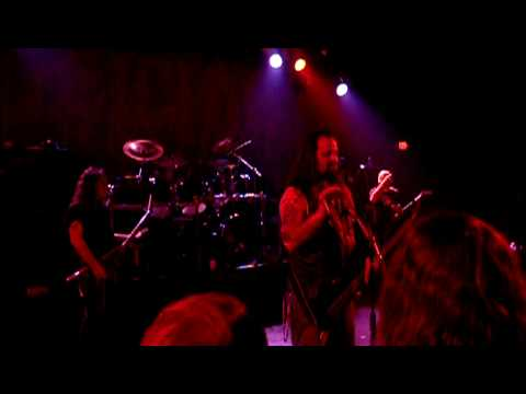 Glen Benton answers crowd questions at Deicide show online metal music video by DEICIDE