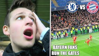BAYERN MUNICH DESTROY CHELSEA AT STAMFORD BRIDGE *ANGRY FANS*