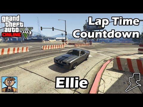 fastest muscle cars (ellie) - gta 5 best fully upgraded cars lap
