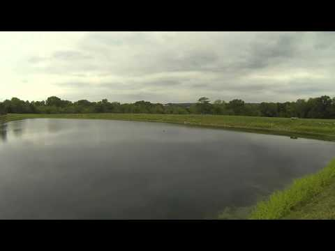 Bass Fishing SE Indiana Pond (1 of 2)