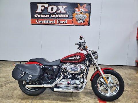2012 Harley-Davidson Sportster® 1200 Custom in Sandusky, Ohio - Video 1