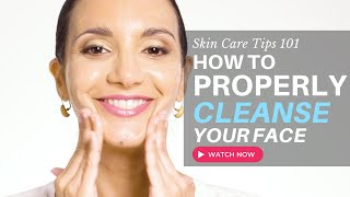 Face Cleansers | How to PROPERLY Wash Your Face To Avoid DRY SKIN and BREAKOUTS