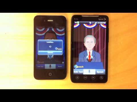Video of iSpeech Obama