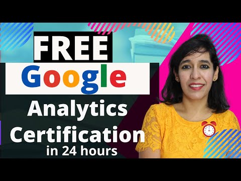 Free Google Analytics Certification | For Beginners ... - YouTube