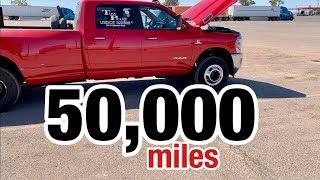 50k mile truck review  -  2019 RAM 3500  -  6.7 Cummins