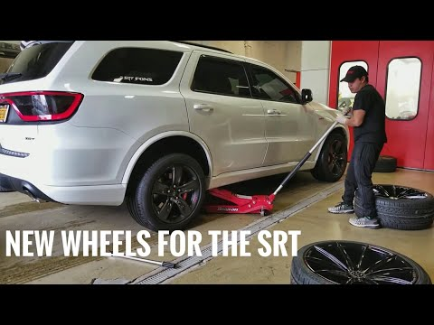 This SRT Durango Gets New Shoes & Lowered Stance
