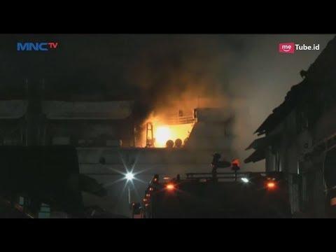 KM Awu di Semarang Terbakar saat Sedang Perbaikan Rutin di Galangan - LIP 26/03