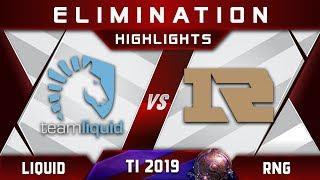 Liquid vs RNG TI9 [TOP 6] $1,200,000 The International 2019 Highlights Dota 2