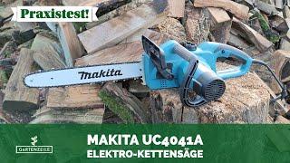 Makita UC4041A Elektro-Kettensäge im Test!