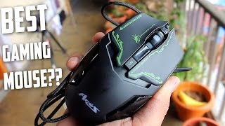 Dragon War ELE-G10 Aries Blue Sensor Gaming Mouse - Unboxing & Brief Review | CreatorShed