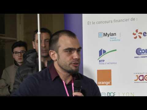Yannick Sarrazin présente son métier de chef de projet chez Alteca